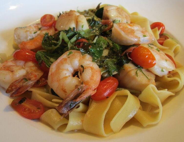 Shrimp and Scallop Bellavista